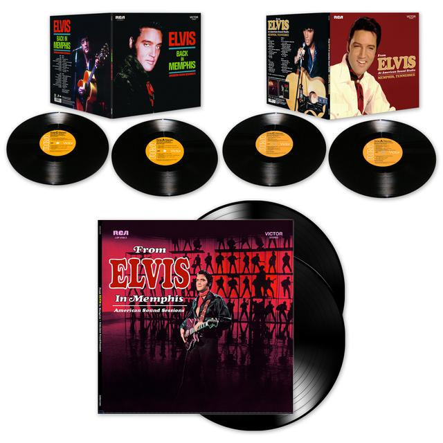 Elvis Presley American Sound Trilogy LP Bundle  (Vinyl)