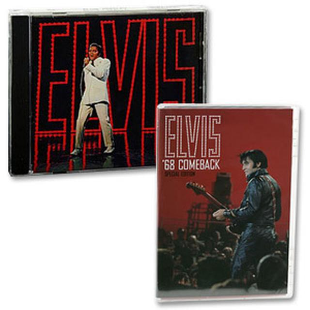 ELVIS TV Special CD and '68 Comeback Special Edition DVD Combo