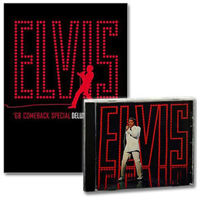 Elvis Presley '68 Comeback Special CD and Deluxe DVD Combo