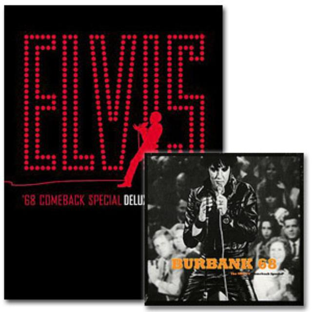Burbank '68 CD and Comeback Special Deluxe Elvis DVD Combo