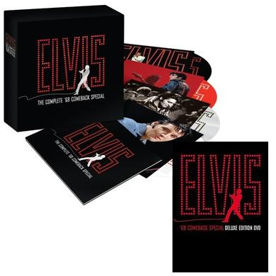 Elvis Presley '68 Comeback Special 40th Anniversary CD Set and Deluxe Edition DVD Combo