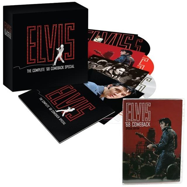 Elvis Presley '68 Comeback Special 40th Anniversary CD Set and DVD Combo