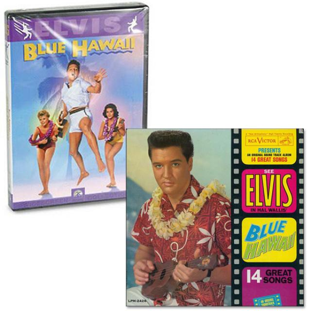 Elvis Blue Hawaii FTD CD and DVD Combo