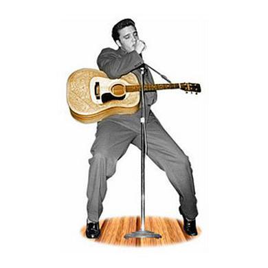 Elvis Presley Hound Dog Lifesize Stand Up