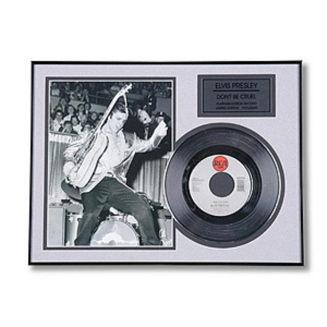 Elvis Don't Be Cruel Framed Record