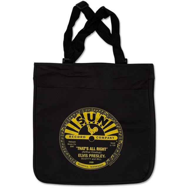 Elvis - That's All Right Black Tote Bag