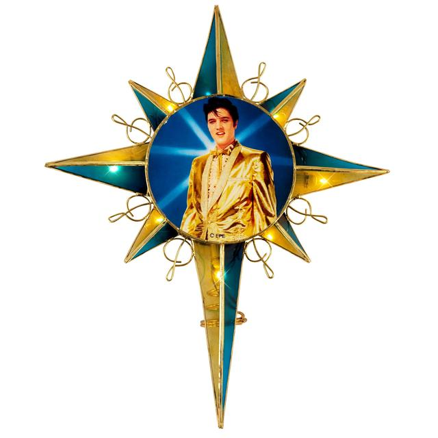 Elvis Gold Lame Suit Tree-Topper