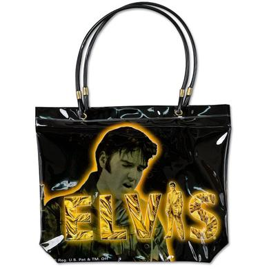 Golden Elvis Tote Bag