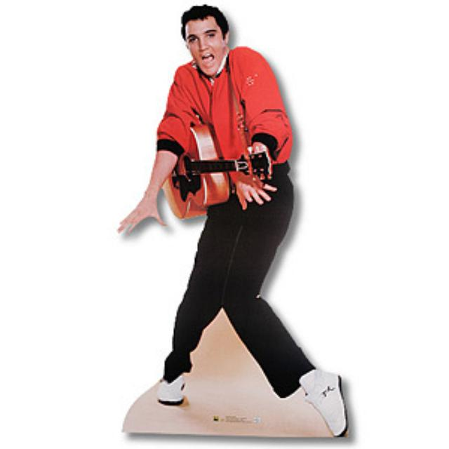 Elvis Presley Jailhouse Rock Guitar Lifesize Stand Up