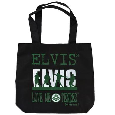 Elvis Love Me Tender Black Market Tote Bag