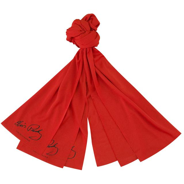 Elvis Presley Red Scarf Set of 3