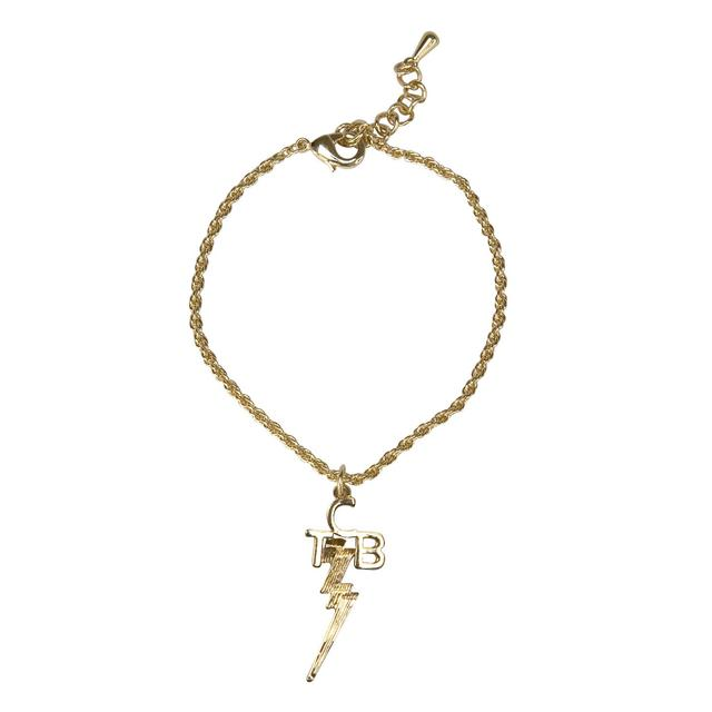 Elvis - TCB 18 kt Gold Plated Bracelet