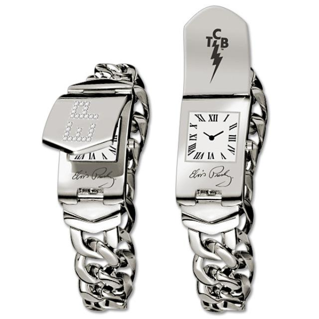 Elvis Presley Limited Edition ID Bracelet Watch - Stainless Steel
