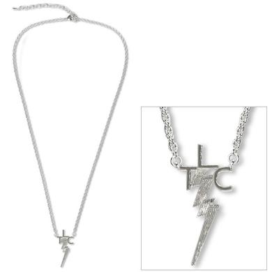 Elvis TLC Silver Plated Necklace