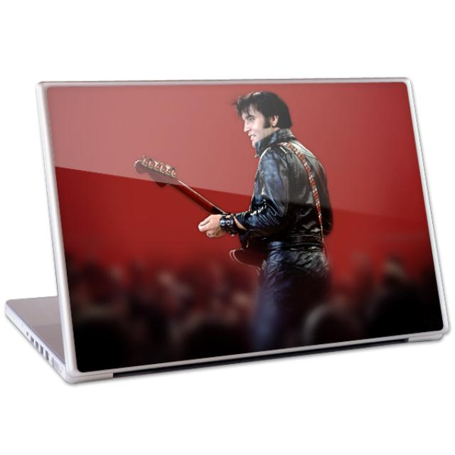"Elvis Leather 13"" Laptop Skin"