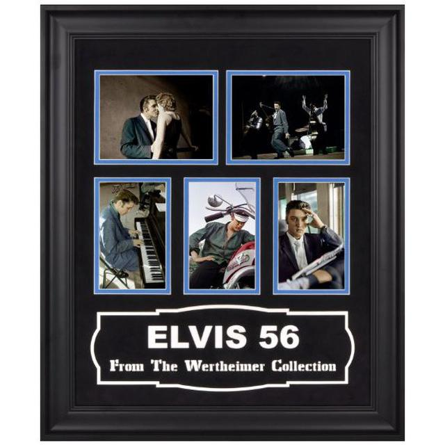Elvis '56 Wertheimer Framed Colorized Photos
