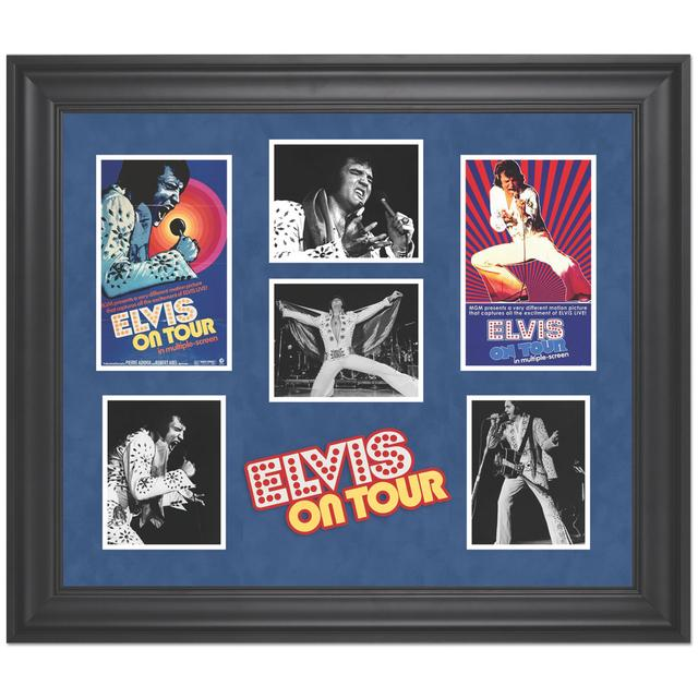 Elvis on Tour Limited Edition Framed Presentation