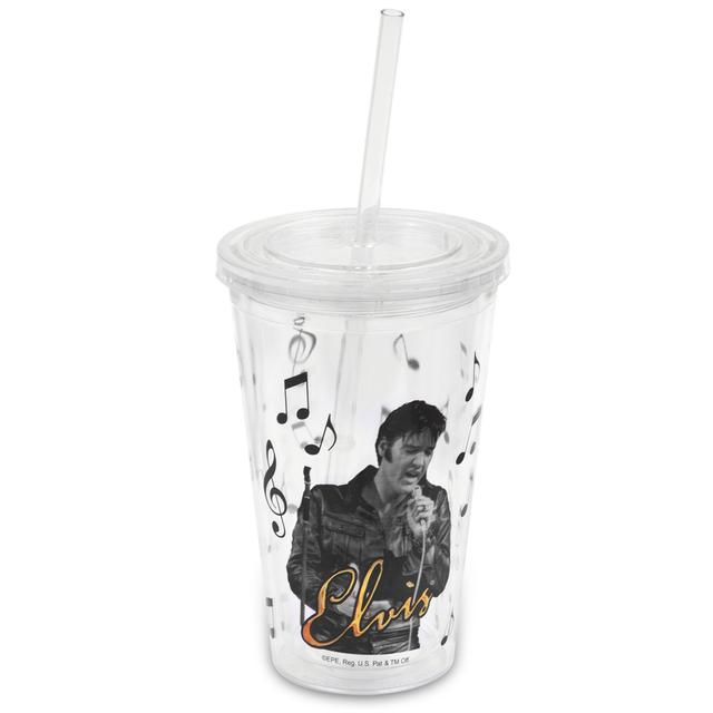 Elvis '68 Special Tumbler with Straw