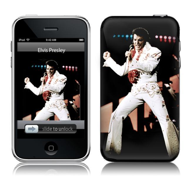 Elvis Aloha iTouch 2/3G Skin