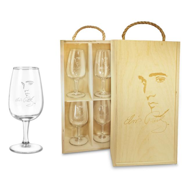 Elvis Signature Wine Glass Box Set