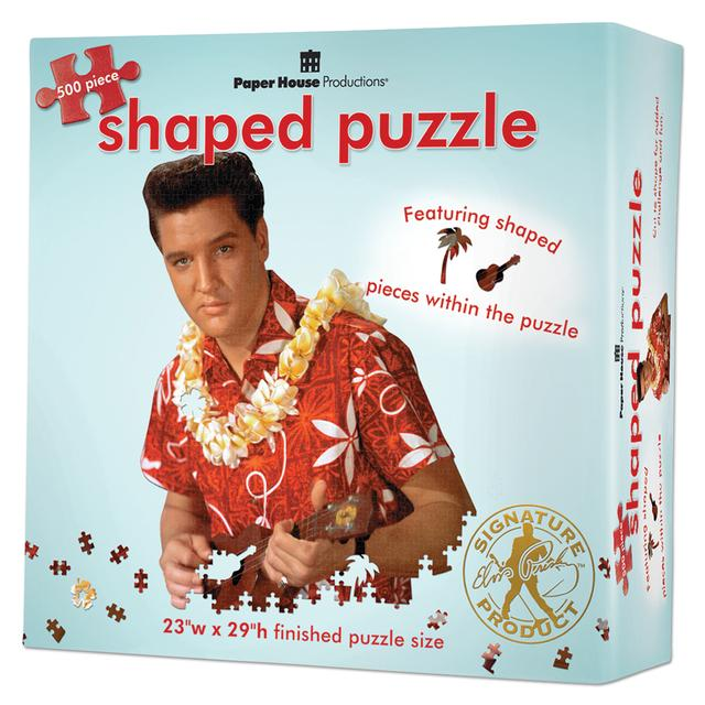 Elvis Blue Hawaii Die-cut 500 Piece Puzzle