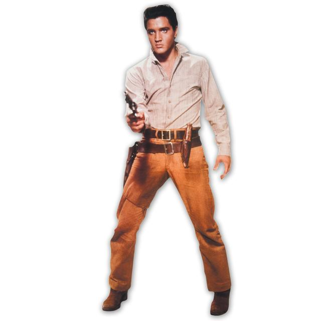 Elvis Presley Flaming Star Blank Greeting Card