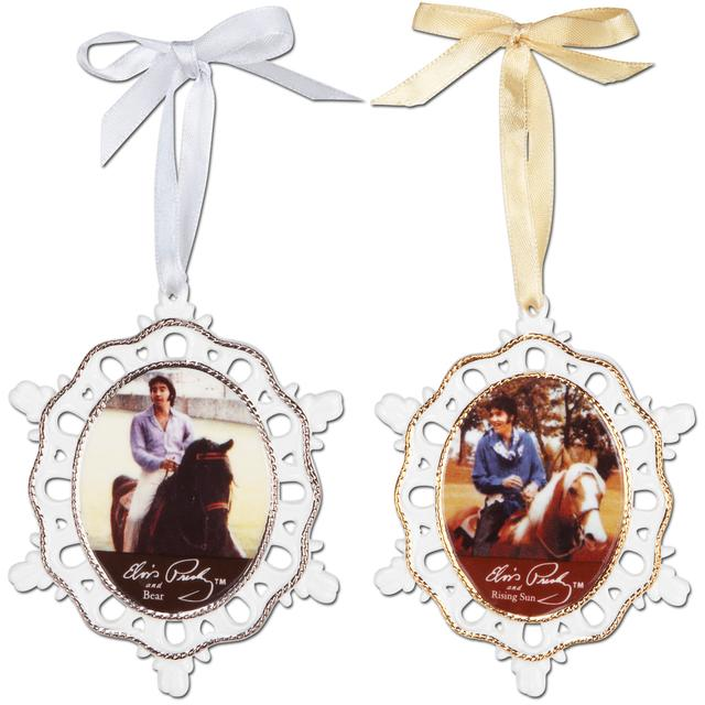 Elvis Equestrian Ornament Set