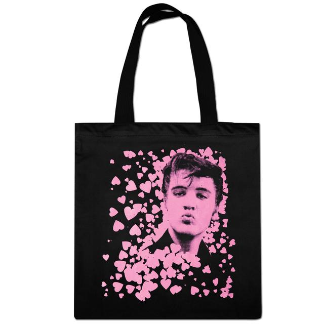 Elvis Smooches Tote Bag