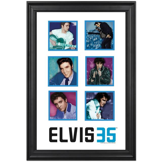 Elvis 35th Anniversary Limited Edition Framed Presentation
