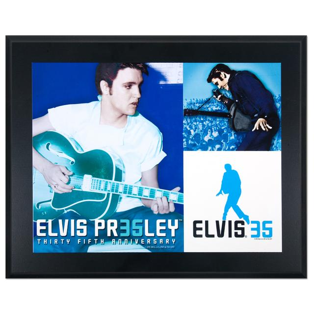 Elvis 35th Anniversary Plaque