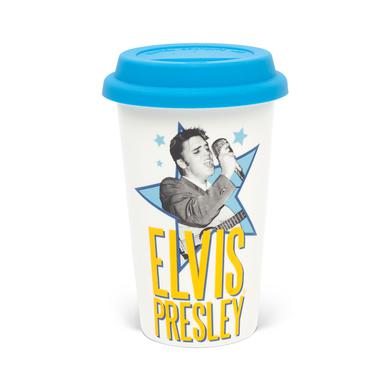 Elvis Star Double Wall Travel Mug