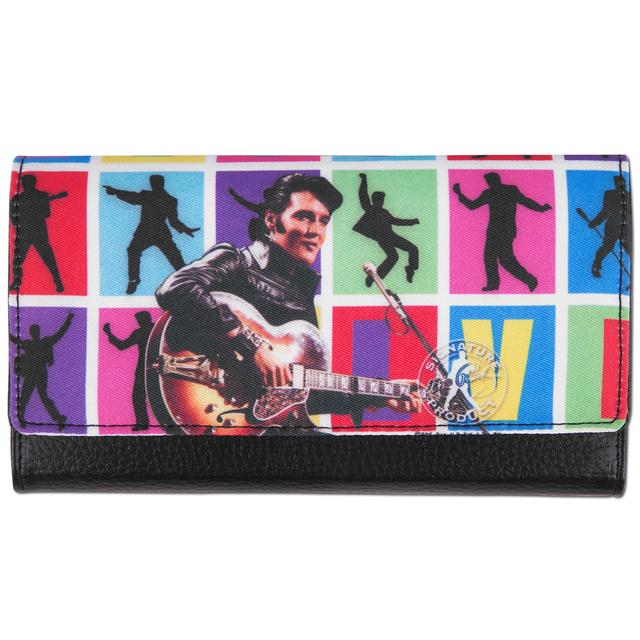 Elvis '68 Special Block Clutch Wallet