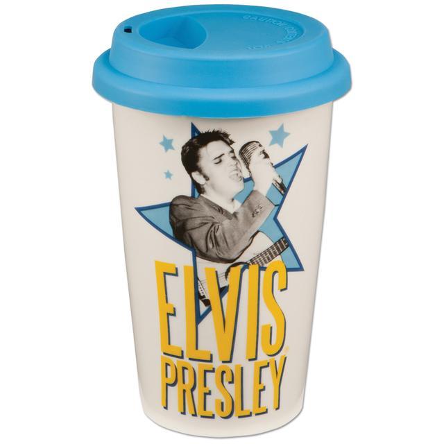 Elvis Double-Wall Travel Mug