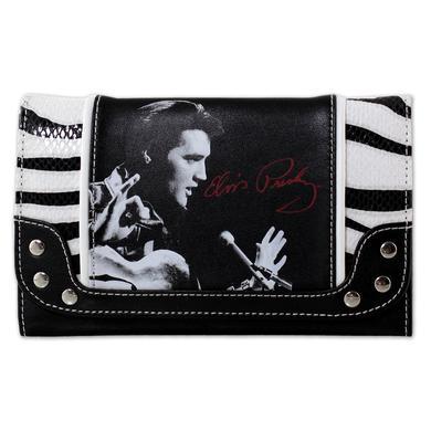 Elvis '68 Special Zebra Wallet