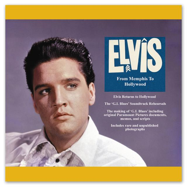 Elvis From Memphis to Hollywood FTD Book and CD