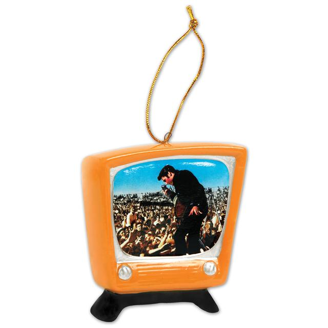 Elvis In Concert Ornament
