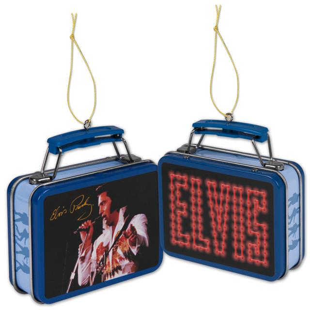 Elvis Lunchbox Ornament