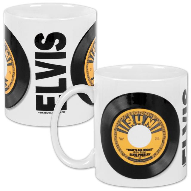 Elvis Sun 45rpm Ceramic Mug