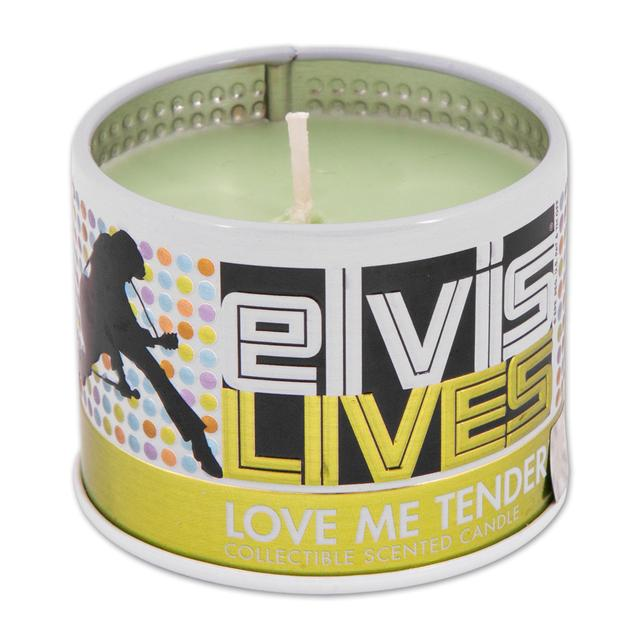 Elvis Love Me Tender Scented 4oz Candle