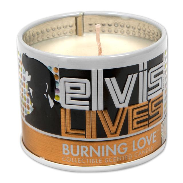 Elvis Burning Love Scented 4oz Candle