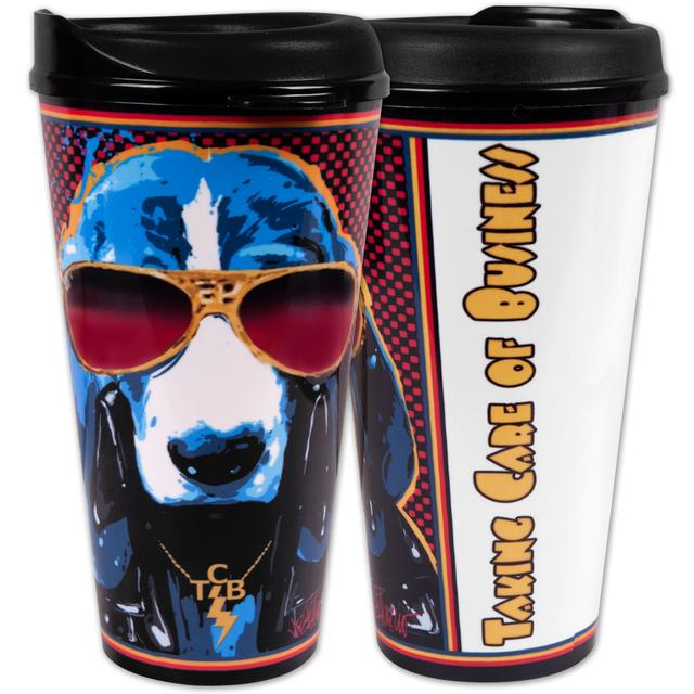 Elvis TCB Hound 32oz Travel Mug