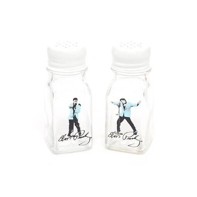 Elvis Presley Blue Suede Shoes Ceramic Salt & Pepper Set
