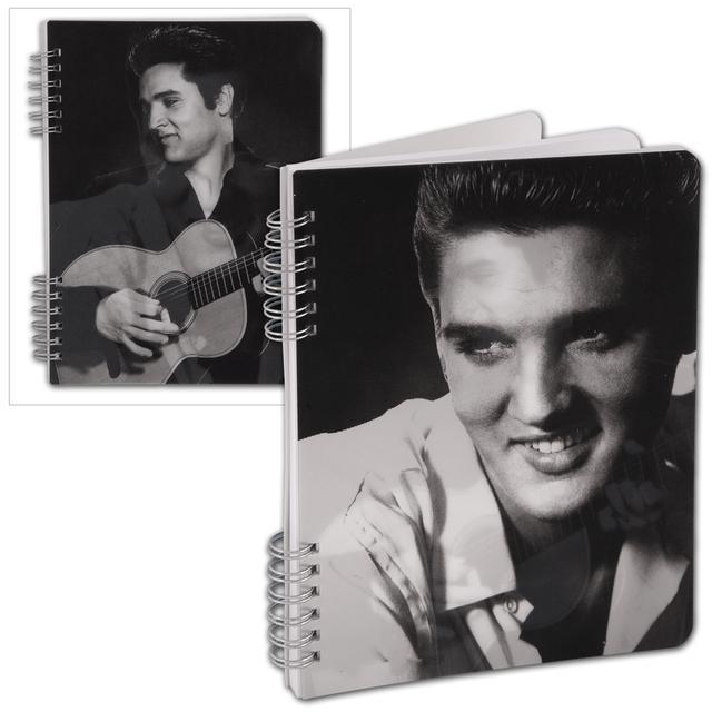 Elvis Presley Lenticular Spiral Notebook
