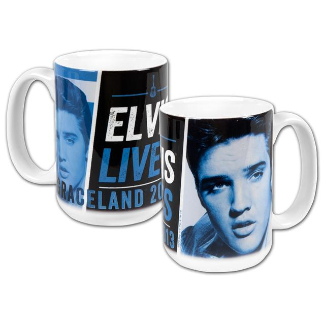 2013 Elvis Lives White Mug