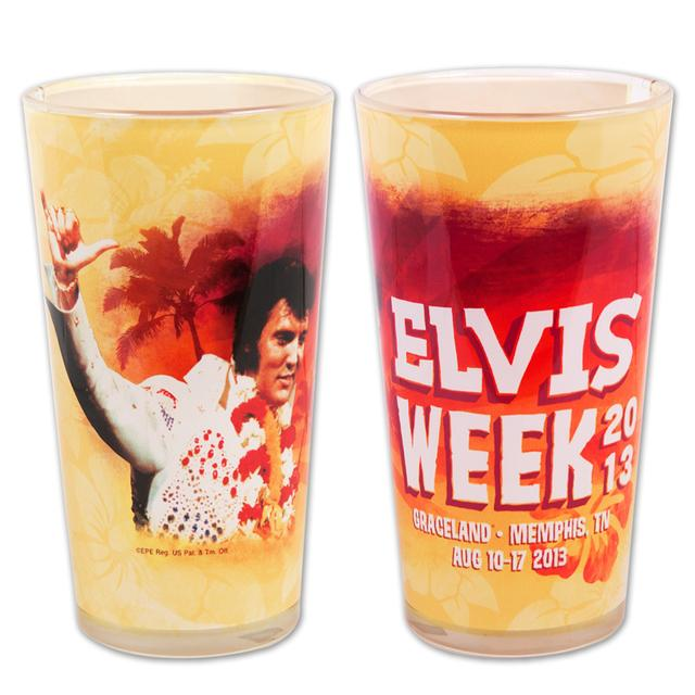 Elvis Week 2013 16oz Sublimated Pint Glass