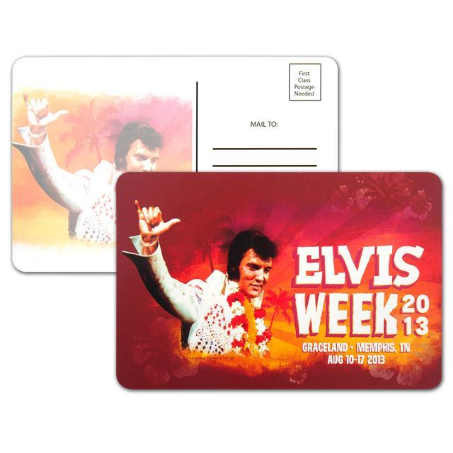 """Elvis Week 2013 4x6"""" Postcard"""