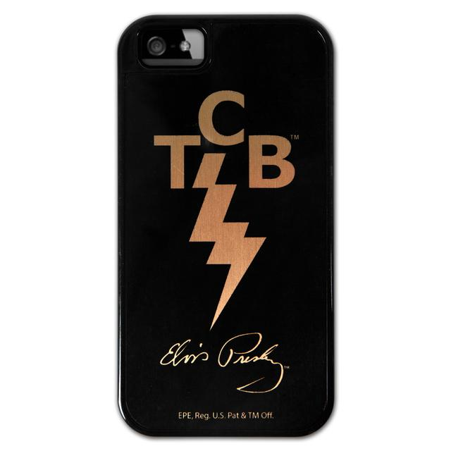 Elvis TCB iPhone5 Lowell Hays Black Case