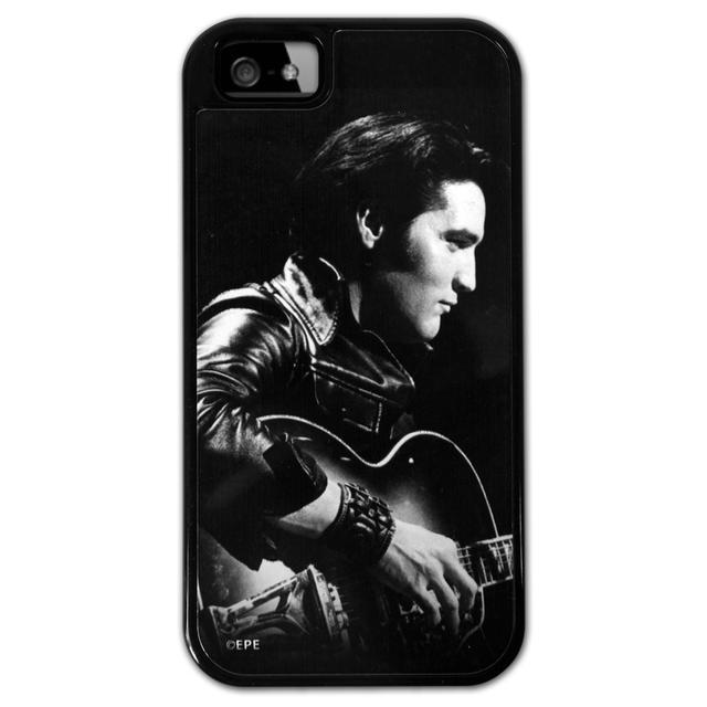 Elvis 68 Black/White iPhone5 Lowell Hays Black Case