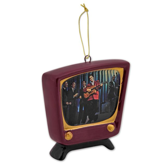 Elvis Porcelain TV Ornament