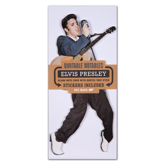 Elvis Quotable Notable Notecard